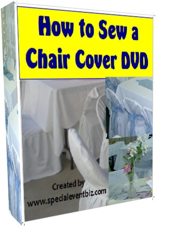 How to Sew a Chair Cover DVD2
