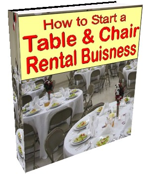 Table and Chair Rental ebook